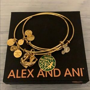 Peter Pan Alex and ani duo bracelets